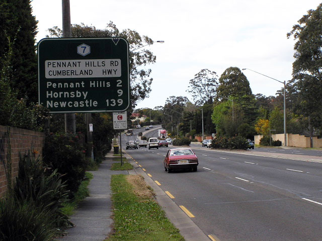 Pennant Hills Road