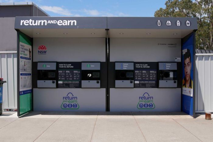 Return and Earn Station NSW