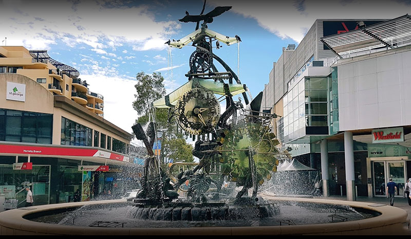 Hornsby Water Clock - Historical landmark - Hornsby NSW 2077