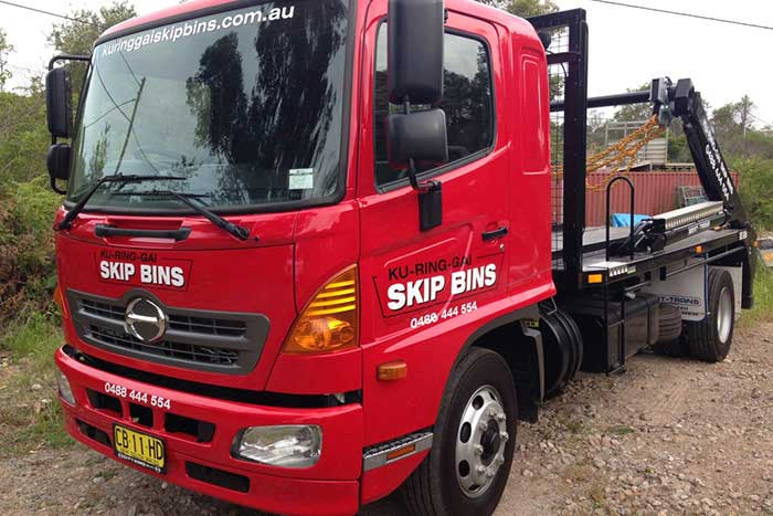 Genuine Cubic Metre Sized Skip Bins in Hornsby NSW 2083