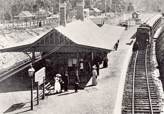 Historical Epping Train Station