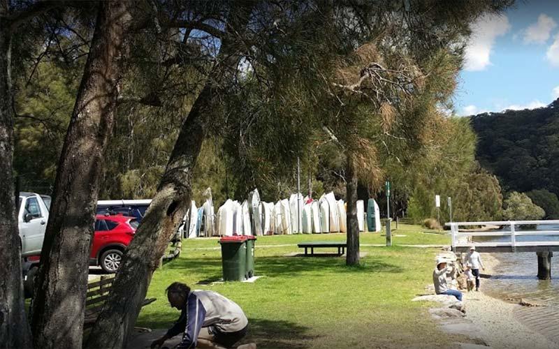 McCarrs Creek Reserve, Church Point NSW